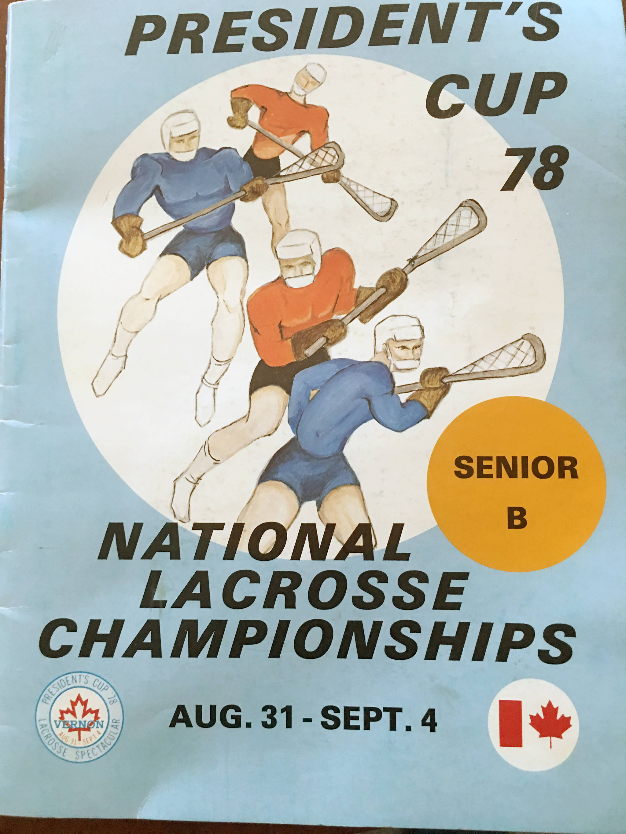 The program for the 1978 President's Cup tournament which was won by the Tigers at a jam-packed Civic Arena.