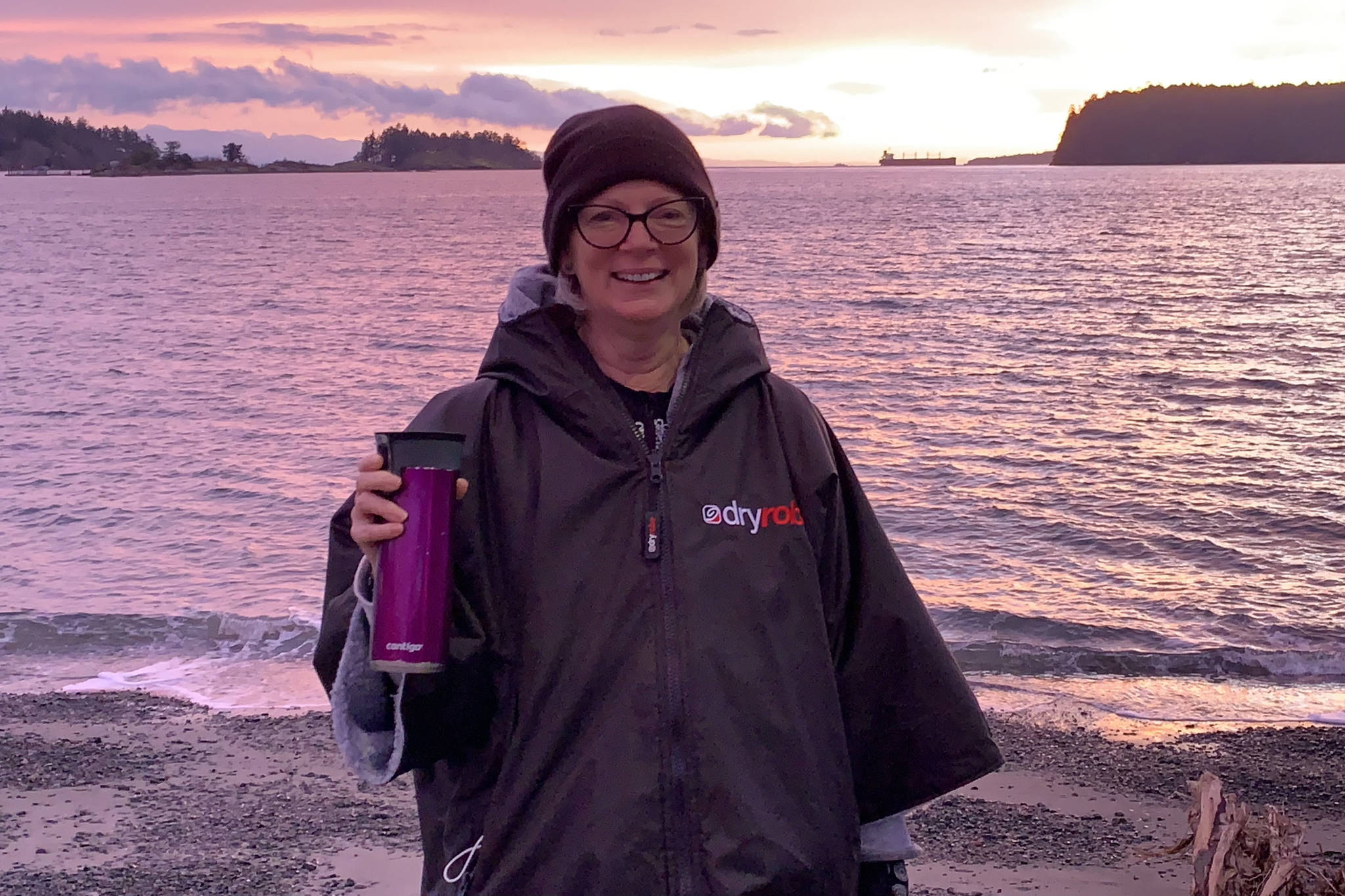 """Vicki McLeod will be presenting her pictures of """"wild swimming"""" at an online women's Zoom event, YakFest, on April 5. (SUBMITTED PHOTO)"""